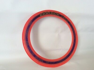 Aerobie Sprint * The Astonishing Flying Ring Disc * Red Frisbee Model A10