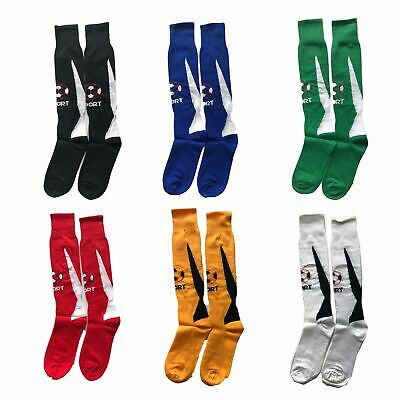 Men Youth Kids Womens Long Sport Traning New Socks Football Rugby Hockey