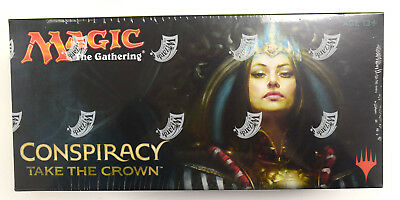 Magic The Gathering Conspiracy Take the Crown Factory Sealed MTG Booster Box