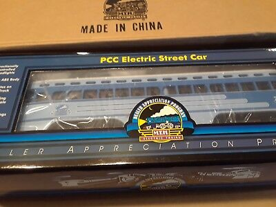 MTH 20-80002H PCC Electric Streetcar - DAP - w/PS1 NEW IN BOX