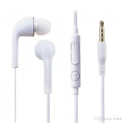 Genuine White Samsung Handsfree Earphones Earbud With Mic For Various Mobiles