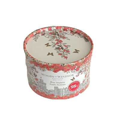 Woods of Windsor Luxury Dusting Powder with Puff - True Rose 100g/3.5 oz