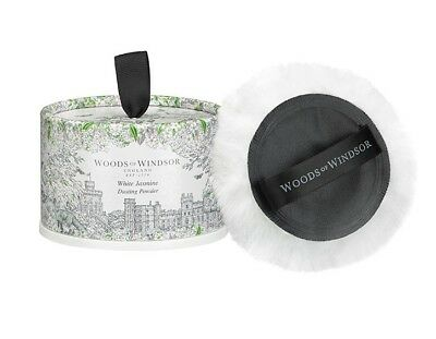 Woods of Windsor Luxury Dusting Powder with Puff - White Jasmine 100g/3.5 oz