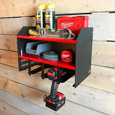 Snap On Drill Driver 18v Impact Battery Charger Tool Shelving Storage Workshop