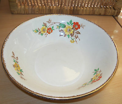 "Swinnertons"" Serving Dish With Floral Pattern"