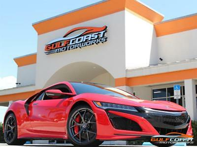 2017 Acura NSX SH-AWD Sport Hybrid 2017 Acura NSX Red w/ Black and Red leather 2k miles