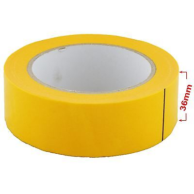 JTape 1125.3650 36mm x 50m 100�C Water-Proof Orange Fine Line / Masking Tape x12