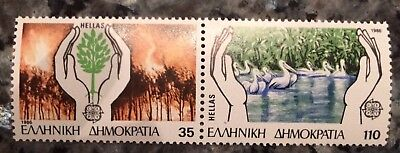 1986 EUROPA CEPT GRÈCE (GREECE). 2 Timbres** (Stamps)