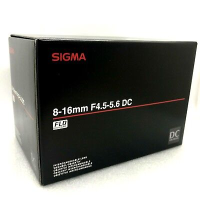 New SIGMA 8-16mm f/4.5-5.6 DC HSM Ultra-Wide Zoom Lens for SIGMA Mount