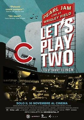 Let's Play Two -  Poster Cinema Pearl Jam Chicago Cubs Vedder