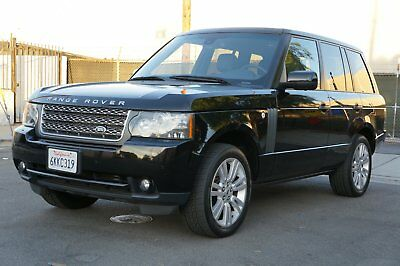 2010 Land Rover Range Rover HSE and LUX package 2010 Land Rover Range Rover HSE LUX