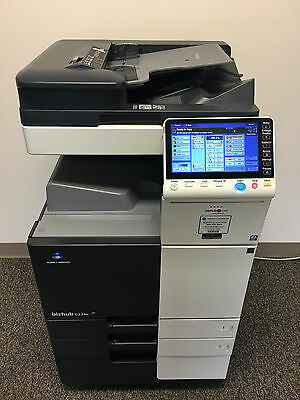 Konica Minolta Bizhub C224e Copier Printer Scanner Network LOW 23k total pages