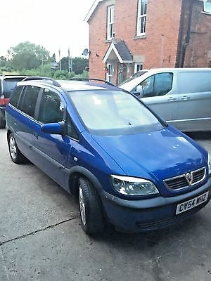 Vauxhall Zafira (2004 / 2005) 2.0 DTi Energy 5d (Blue) - BREAKING FOR PARTS