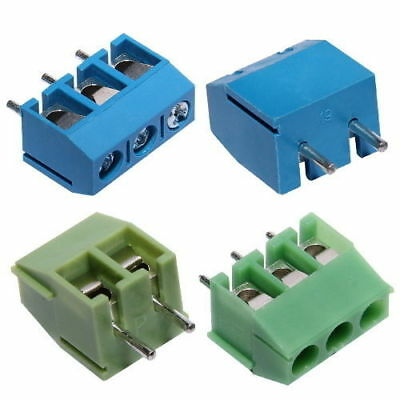 2-Pole/3-Pole 3.5mm/5.08mm Pitch PCB Mount Screw Terminal Block Way