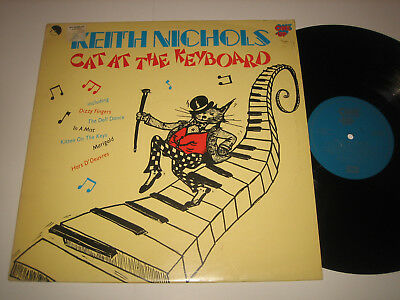 LP Keith Nichols: Cat At The Keyboard - UK One-Up OU 2085
