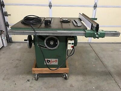 "10"" Grizzly Cabinet style Table saw"