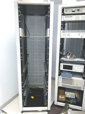 """Agilent Equipment Cabinet with cooling fans, power strip and 19"""" rack rails"""