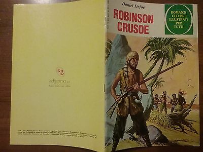 Robinson Crusoe Romanzi Celebri Illustrati Collana Beta 1980 Edigamma