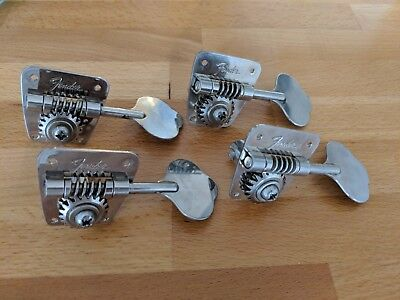 1968 1969 Fender bass tuning pegs tuners Precision Jazz Telecaster