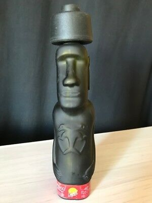 Tiki Moai Easter Island Pisco Sour Bottle/Decanter Empty