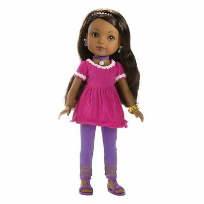 Nahji India Doll - Play Doll by Hearts For Hearts Girls (35107)