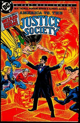 DC AMERICA vs The JUSTICE SOCIETY #3 NM/M 9.8 US ONLY!!