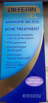 One Tube Of Differin Adapalene Gel 0.1% Retinoid Acne Treatment(EXP:06/21)