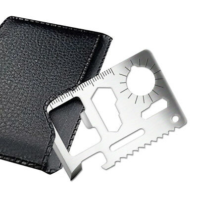 Multi Function Pocket Tool Camping Emergency Keying Cut Card Bottle Opener Saw