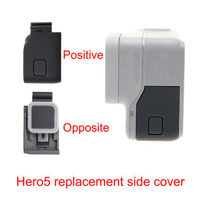 ABS Side Door USB-C Micro HDMI Port Protective Cover For GoPro HERO6/HERO5 Black