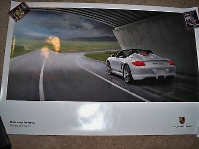 Porsche Boxster Limited Edition Poster 2010  True Auction Starts At $1