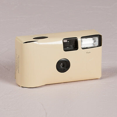 Disposable Camera x 10 with Flash - Ivory