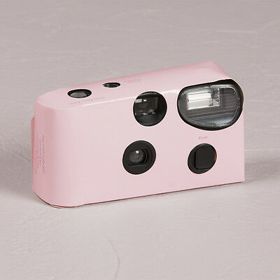 Disposable Camera x 10 with Flash - Pink