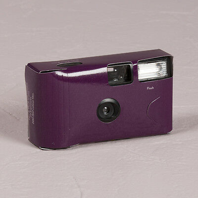 Disposable Camera x 10 with Flash - Purple