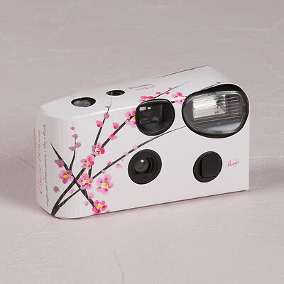 Disposable Camera x 10 with Flash - Cherry Blossom