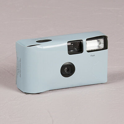 Disposable Camera x 10 with Flash - Pastel Blue