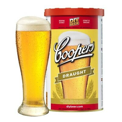 Coopers Draught Beer Home Brew 3 Pack