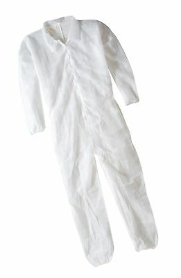 Keystone Polypropylene Coverall Disposable Elastic Cuff White Xlarge (Case of...
