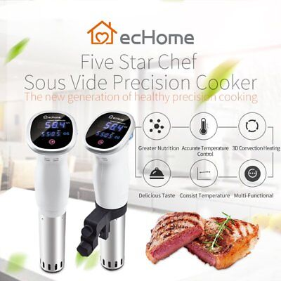 ecHome Sous Vide Immersion Circulator Precision Slow Cooker Machine Thermal