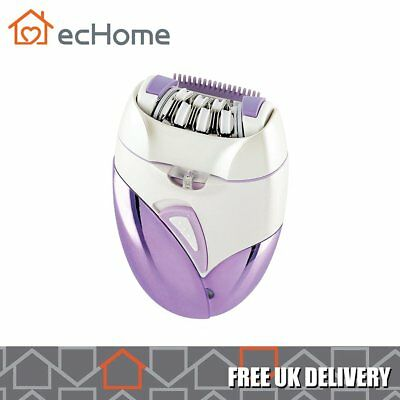 ecHome Women Lady Electric Rechargeable Epilator Removal Underarm Face Body