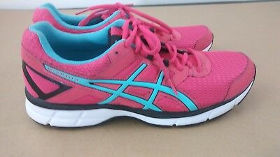 abb07675431c Brand New Asics Gel Galaxy 8 T575N Pink Teal Womens Shoes Size 11 Running