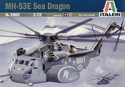Italeri 1065 1/72 Scale Model Cargo Helicopter Kit U.S Navy MH-53E Sea Dragon