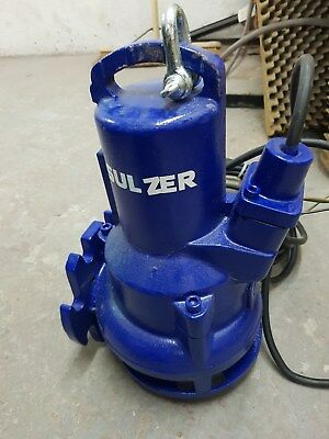 Sulzer Submersible Wastewater Pump Type ABS AS0840.118-S12/2