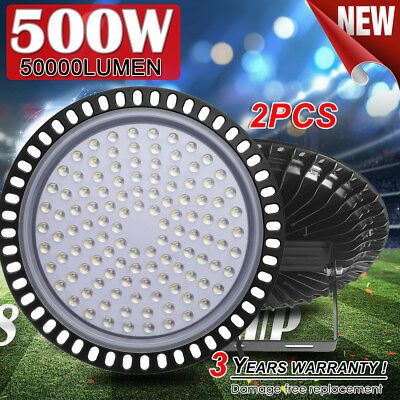 2X 100W LED High Bay Light Commercial Warehouse Industrial Factory Shed AU STOCK