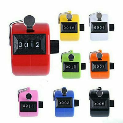 Golf Clicker Counter 4 Digital Handheld Tally Counter Counting Count Number