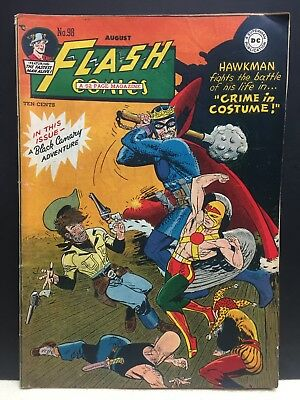 FLASH COMICS Hawkman 1948 #98 No. 98 Good Condition