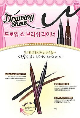 [Etude House] Drawing Show Eyeliner Eye Pencil Brown Full Size