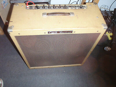 ultra rare 1975 Earth Sound Research 4*10 inch 50watts tube combo full working !
