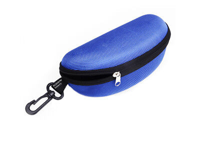 Rainbow Protective Sunglasses Hard Case Zippered / RB-Blue