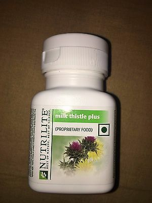 Amway NUTRILITE Milk Thistle Plus Supports Liver 60N tablets Free Ship