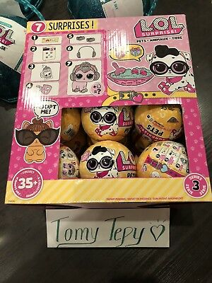 AUTHENTIC LOL SURPRISE PETS (SERIES 3) Full Case (18 Balls) IN HAND